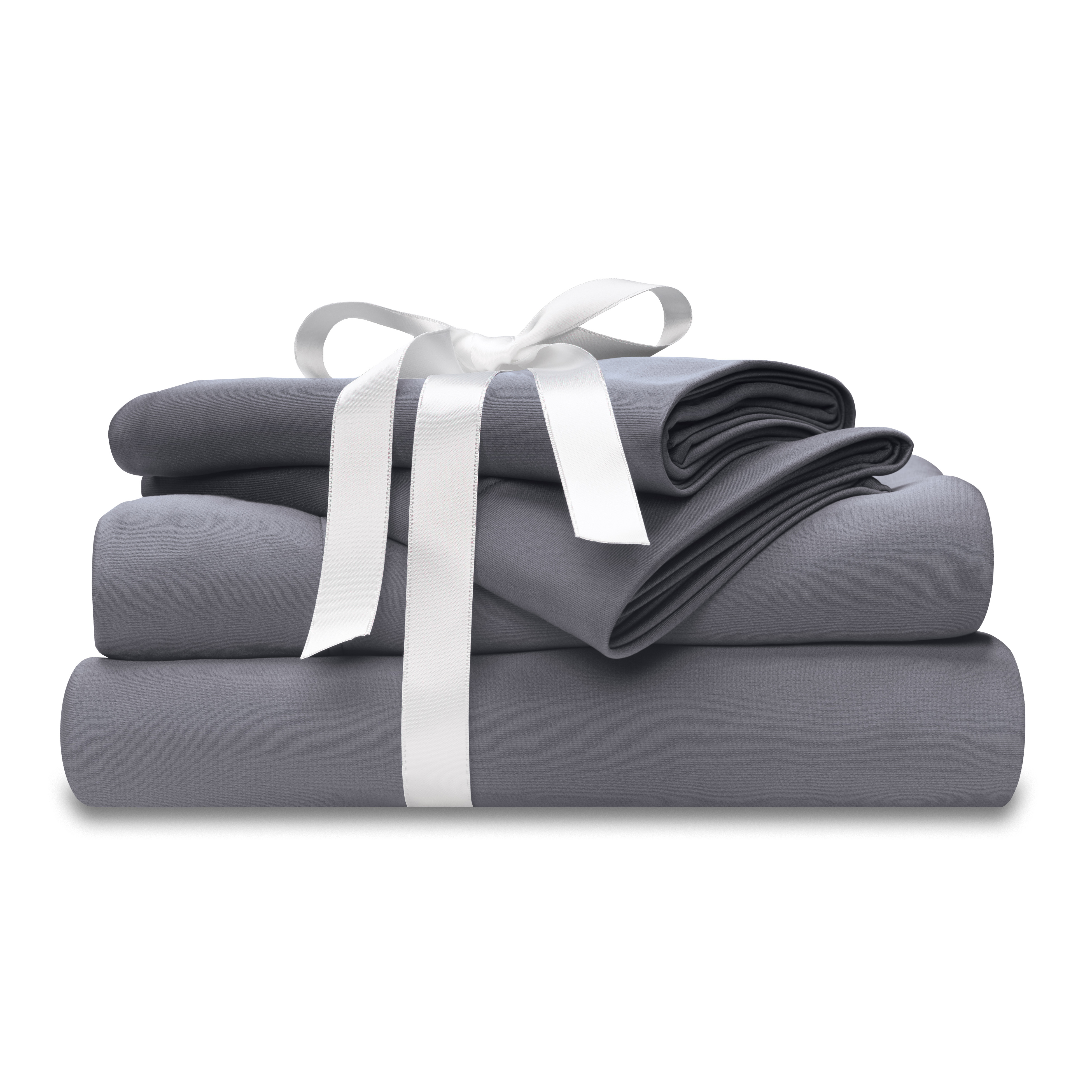 ... Moisture Wicking Gray Bed Sheet Set With Bow At Wicked Sheets ...