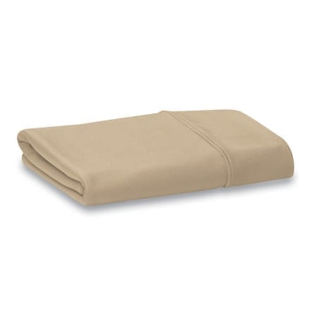 beige moisture wicking pillowcase