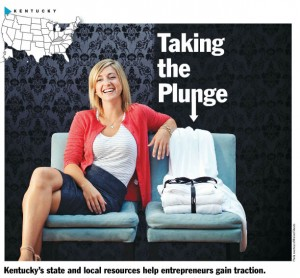Taking the plunge Kentucky's state and local resources help entprepreneurs gain traction