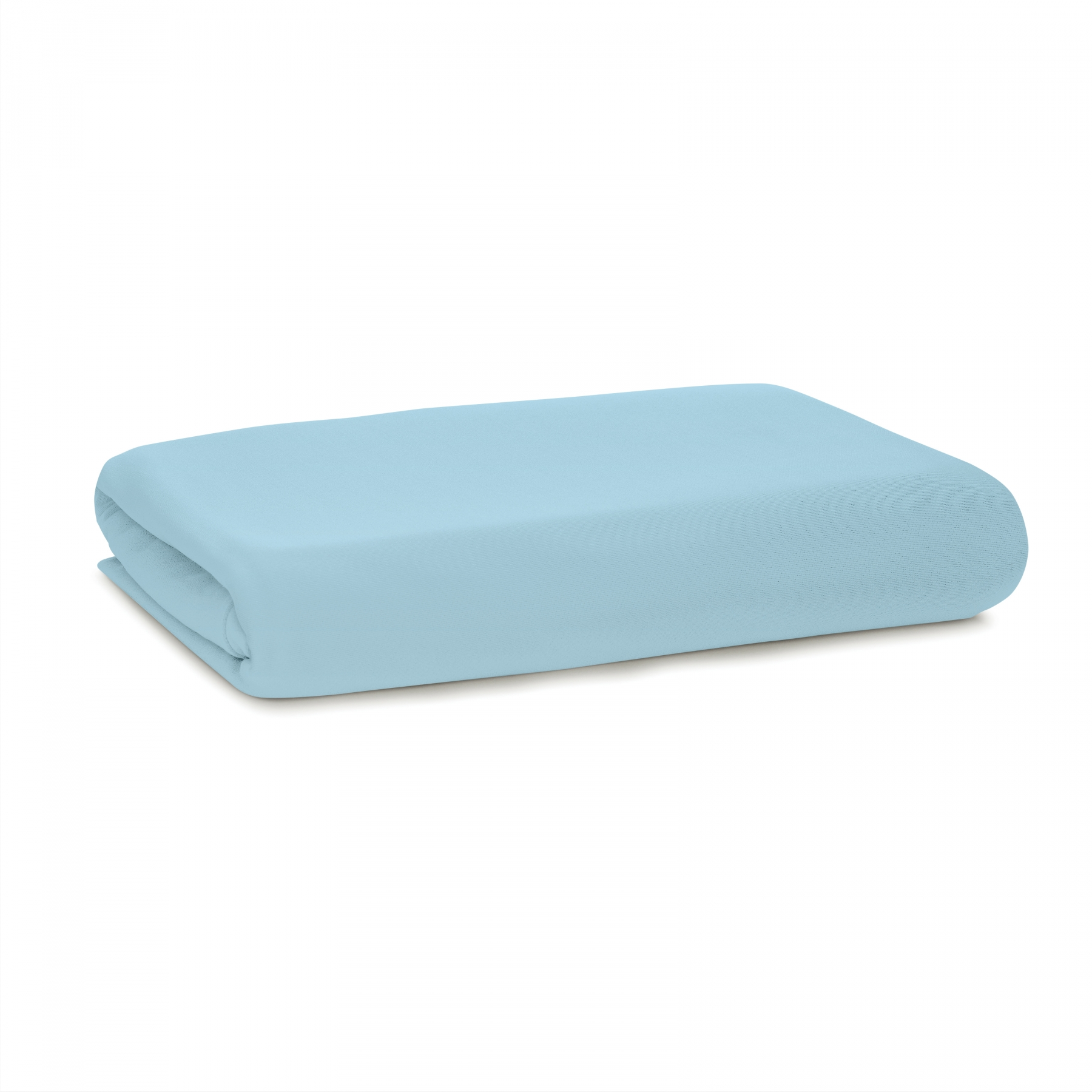 cooling blue fitted sheet