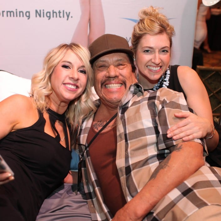 Danny Trejo is performing nightly at wicked sheets