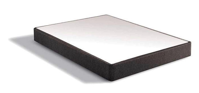 standard black cloth boxspring base