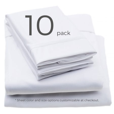 10 pack sheet color and size customizable at checkout