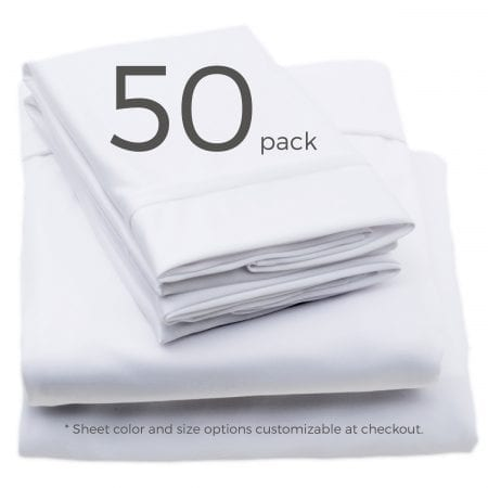 50 pack sheets color and size customizable at checkout