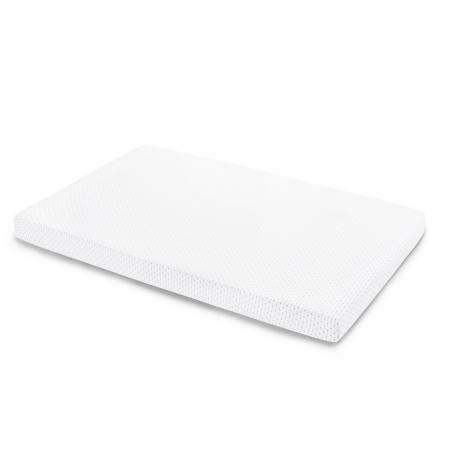 gray and white polka dot mini crib sheet