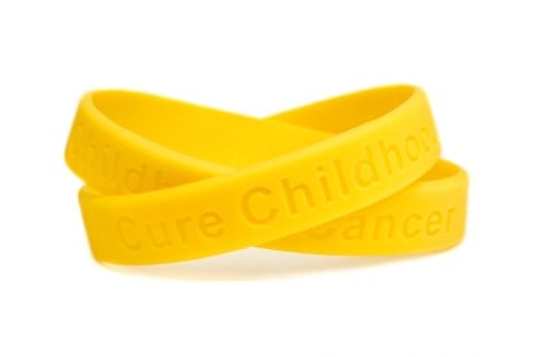 cure childood cancer bracelet at wicked sheets