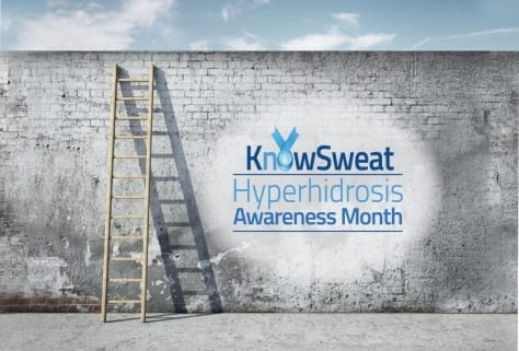 know sweat hyperhidrosis awareness month, antiperspirants at wicked sheets