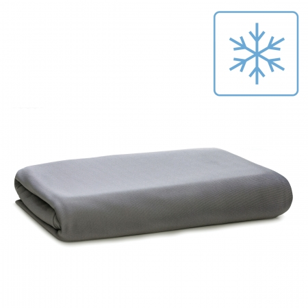 gray cool fitted sheet at wicked sheets
