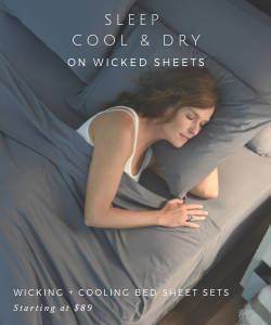 sleep cool and dry on wicked sheets wicking + cooling bed sheet sets