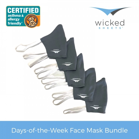 days of the week face mask bundle