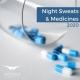 night sweats and medicines