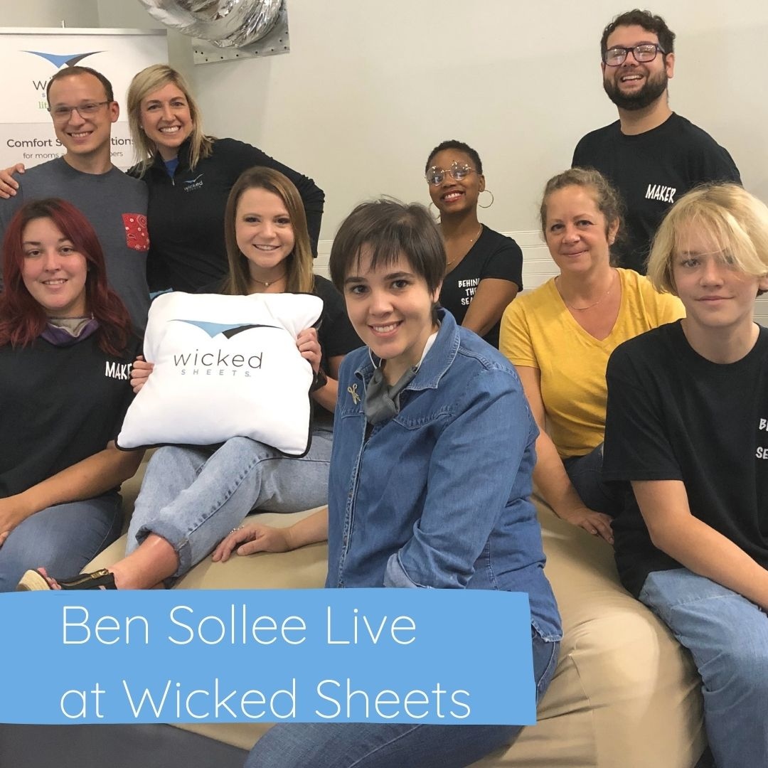 ben sollee live at wicked sheets discussing arts and entrepreneurship