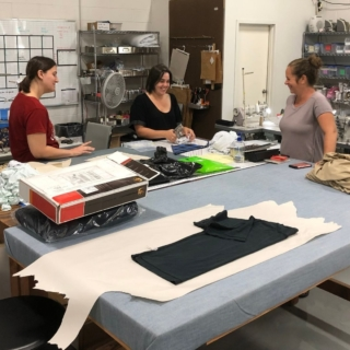 It's Wednesday and that means its #WarehouseWednesday, a day where we share a glimpse of what we do here at the Wicked Warehouse! This week our seamstresses Sarah, Michelle, and Autumn worked together to tackle some patterns. We are so happy to have such talented women on the team!  #WickedSheets #Wicked #Teamwork #GirlPower