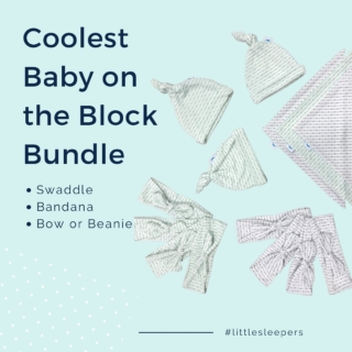 We know what everyone did during quarantine! 🙊 Check out this month's best selling bundle!  . . . #wickedlittlesleepers #littlesleepers #quickdry #coolsheets #swaddle #babybow #babybeanie #baby #coolbaby