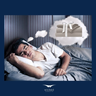 We all know you've been DREAMING about us.. its ok, you don't need to be afraid to admit it. No more night sweats, on us!   Happy Monday Wicked Fam, hope you have a wicked good week! . . . #wickedgooddreams #wickedgood #wickedsheets #wickeddreams #nosweat #arcticash #coolsleep #coolsheets #coolbed #sheets #bedding #bedsheet