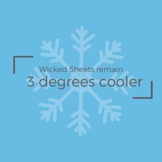 ❄️❄️❄️ . . . #coolsheets #coolingsheets #wickedcool #wickedsheets #3degrees #bedsheets #sheets